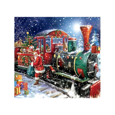 5D Halloween Christmas Train Diamond Painting Embroidery DIY Home Decoration](Diy Halloween Decoration)