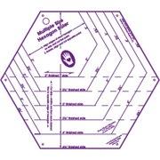 "My Favorite Hexagon Ruler-9-1/2""X8-1/2"""