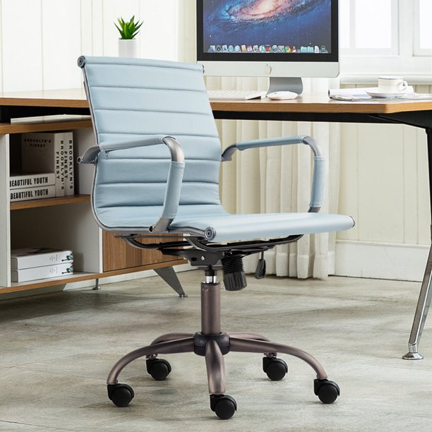 Veryke 2Pcs Office Chairs For Home / Office, Ergonomic