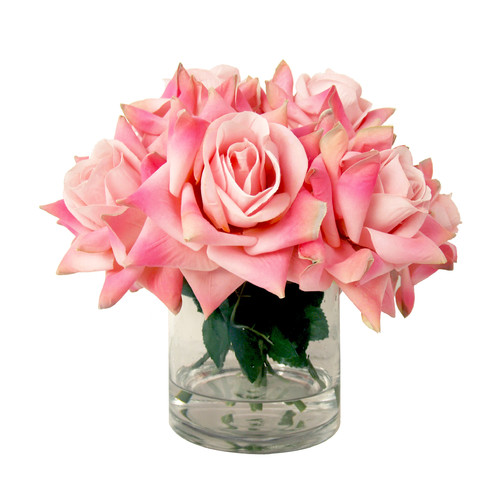 Creative Displays, Inc. Spring Additions Rose Water Bouquet in Glass Vessel