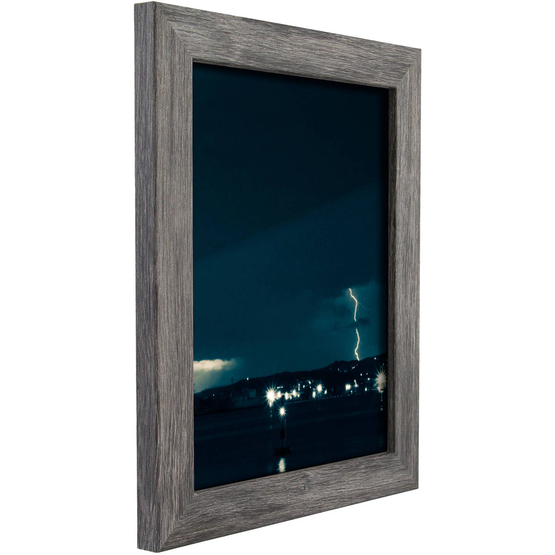Craig Frames Bauhaus Modern Gray Picture Frame