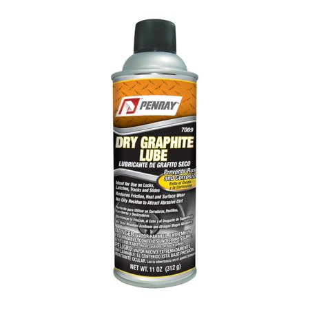 Penray 7009 Dry Graphite Lube - 11-Ounce Aerosol Can