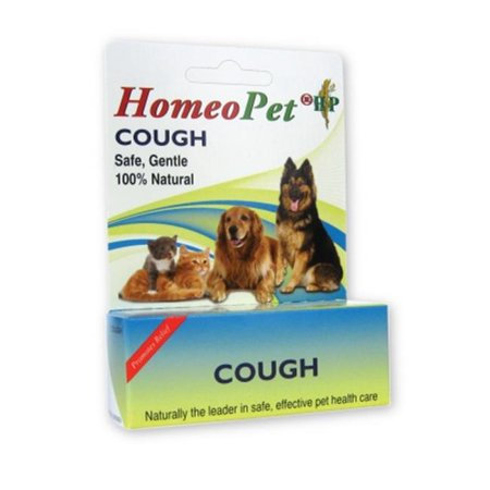 HOMEO PET 015HP02-15 HomeoPet Cough  15 ml (Over The Counter Medicine For Cats With Diarrhea)