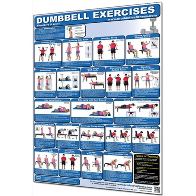 Productive Fitness CDUP Dumbbell Shoulders and Arms - Paper