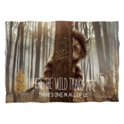 Where The Wild Things Are Wild Thing Tree (Front Back Print) Poly 20X28 Pillow Case White One Size