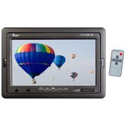 """Tview 7"""" TFT LCD Headrest Monitor with shroud and stand"""