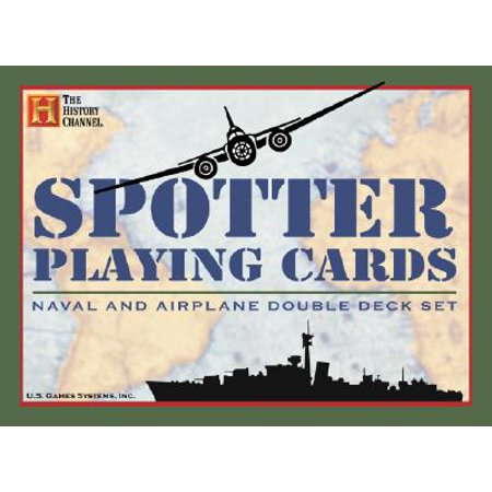 Spotter Playing Cards : Noval and Airplane Double Deck