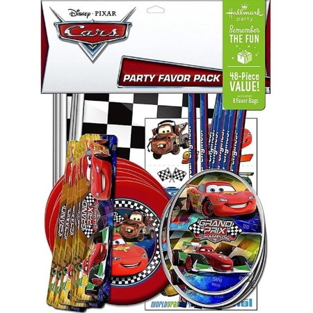 Party Favors - Disney's Cars - Value Pack - 48pc Set](Disney Cars Party)