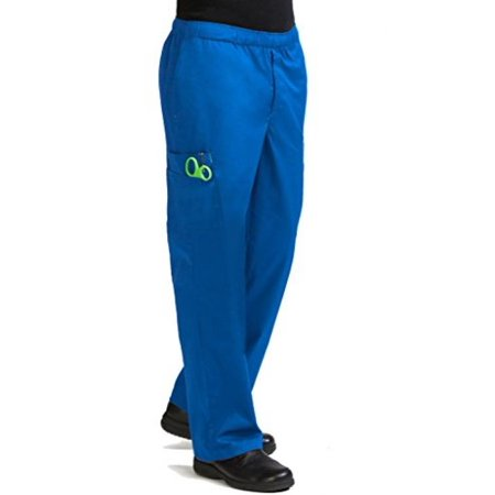 Large Cargo Pants Chefs Pants (Med Couture Men's 'MC2' 7 Pocket Cargo Pant, Royal, X-Large-Tall)