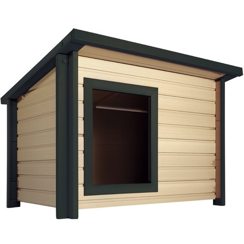 New Age Pet EcoChoice Rustic Lodge Style Dog House