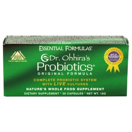 Essential Formulas - Probiotiques Dr. Ohhira Formule originale - 30 Capsules