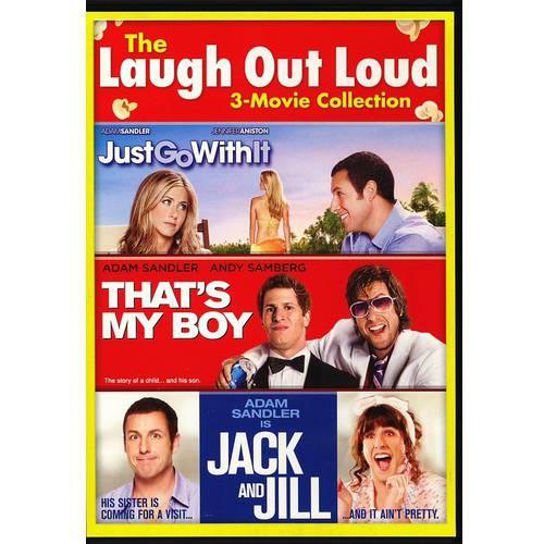 The Laugh Out Loud 3-Movie Collection: Just Go With It / That's My Boy / Jack And Jill (With INSTAWATCH) (Widescreen)