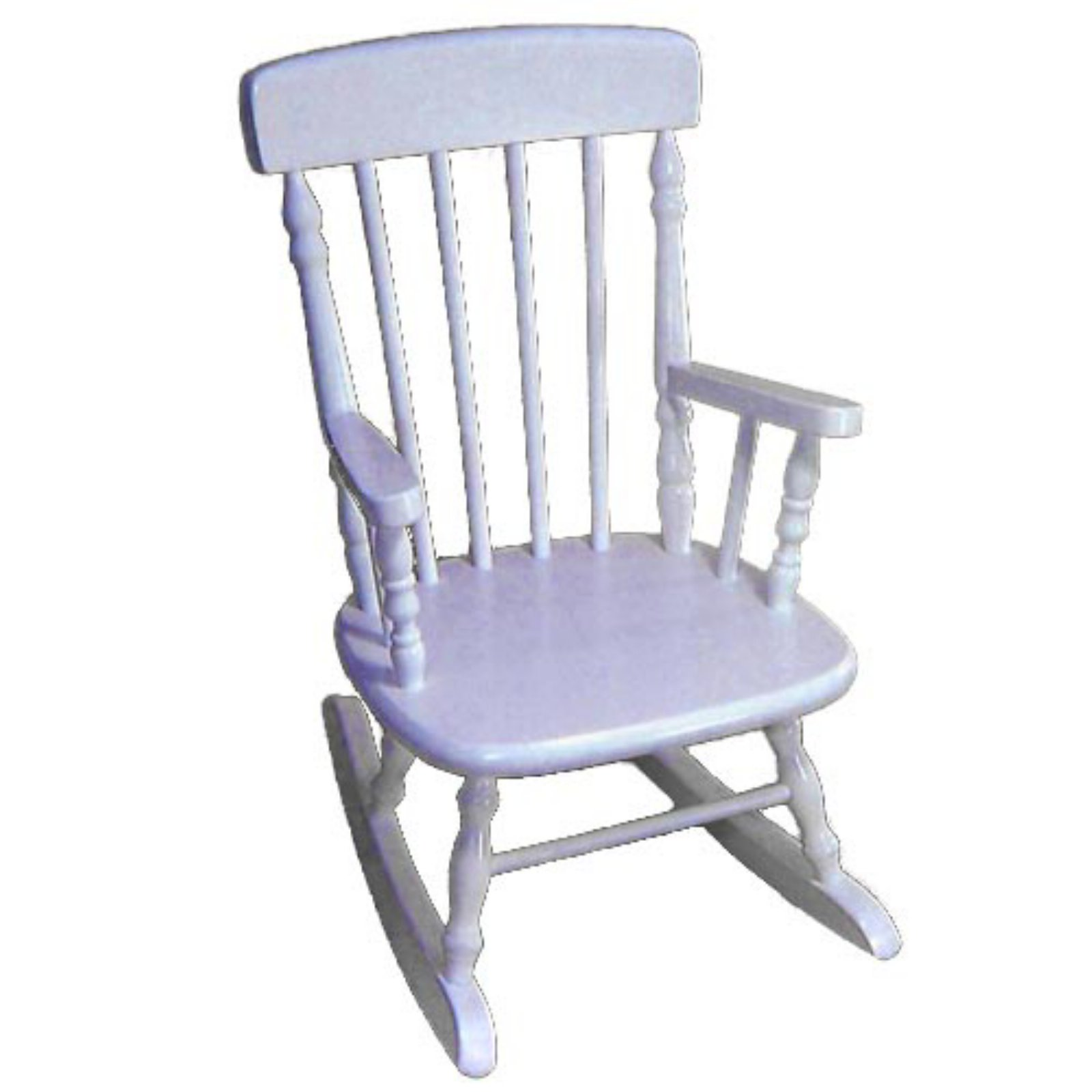 Kids Spindle Rocking Chair