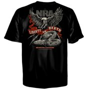 NRA Liberty or Death Short Sleeve Men's T-Shirt