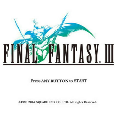 Image of Final Fantasy III (Digital Code)