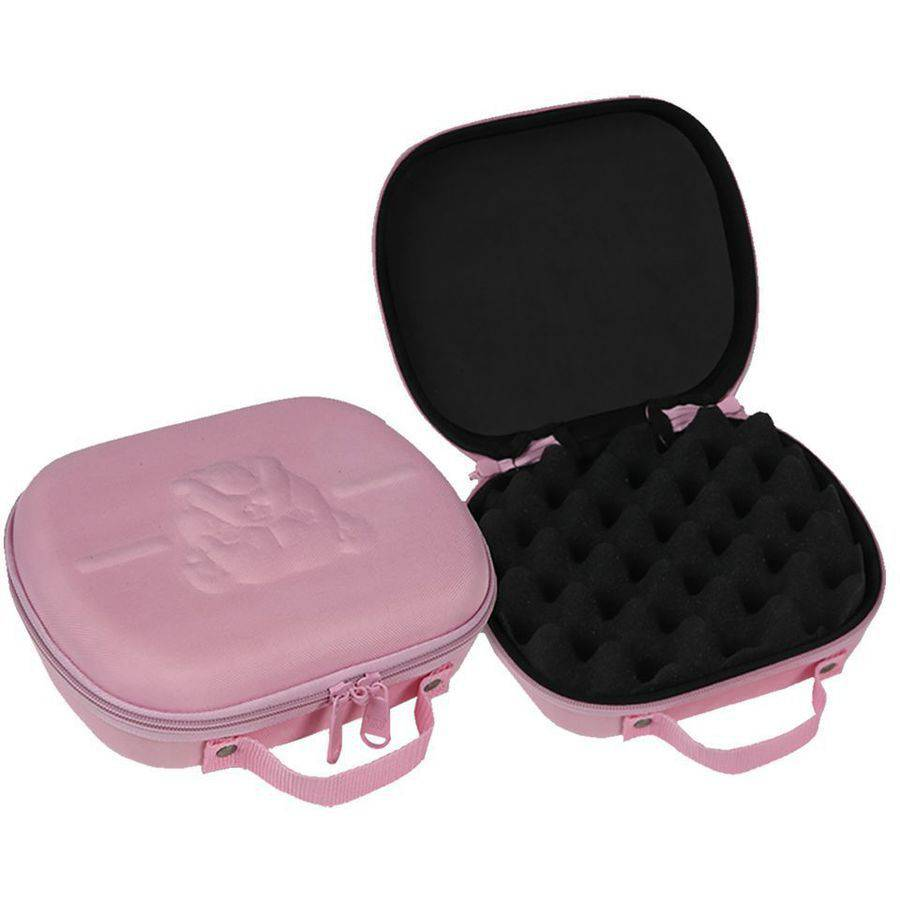 "Bulldog Cases Molded EVA Nylon Pistol Case- Pink 7.5"" X 9"""