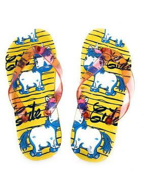 2d04b04467b35 Girls Flip-Flops - Walmart.com