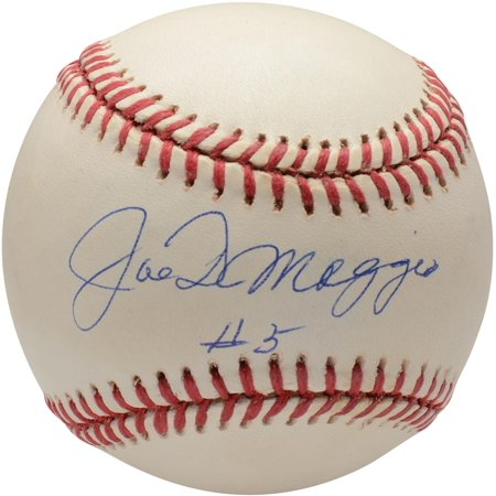 Joe DiMaggio New York Yankees Autographed Vintage Baseball with