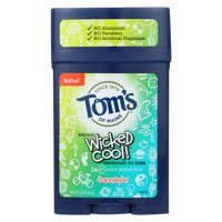 Tom's of Maine Deodorant Stick - Wicked Cool - Boys - 2.25 oz