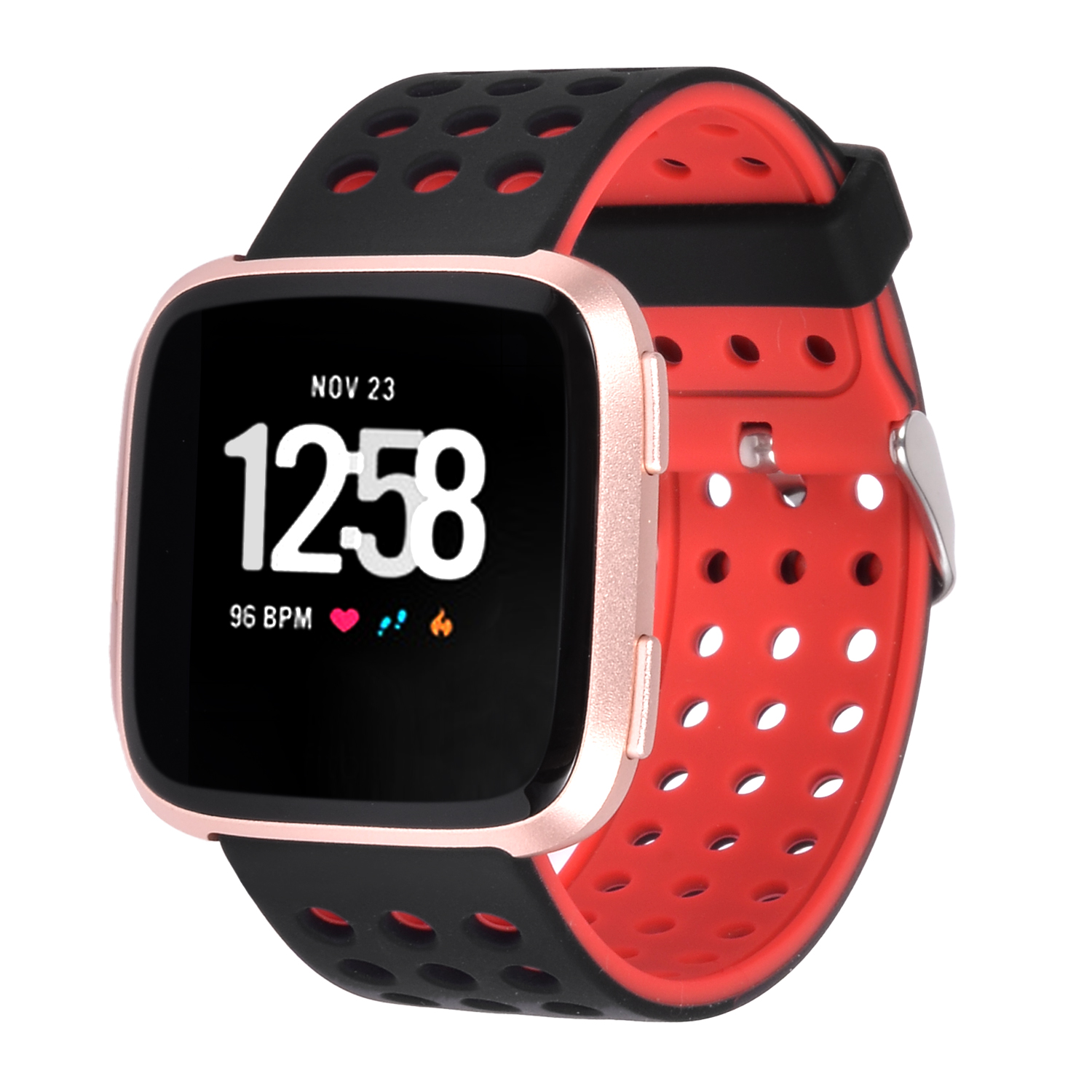 Moretek Classic Sport Band For Fitbit Versa Adjustable Replacement