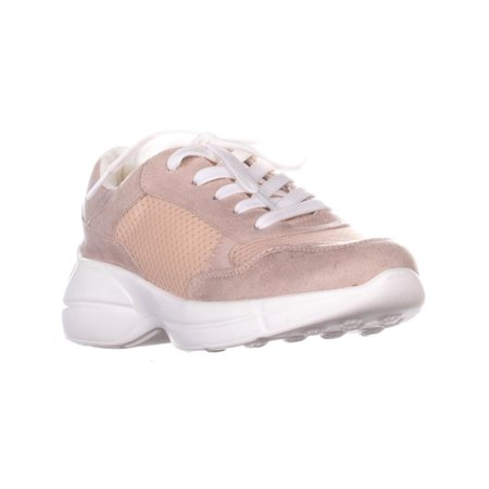 Womens madden girl Burrel Lace Up Sneakers, Blush
