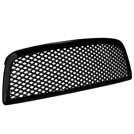 Spec-D Tuning For 2009-2012 Dodge Ram 1500 Mesh Grill Grille Black Abs 2009 2010 2011 2012