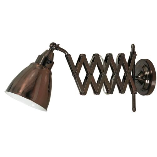 Design Craft Ambrose Copper Bronze Swing Arm Lamp by Overstock