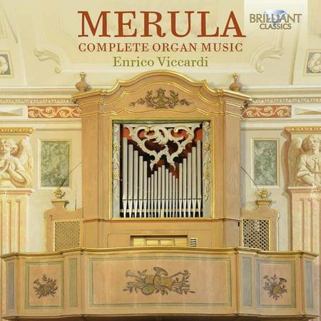 Hammond Organ Music - Merula: Complete Organ Music