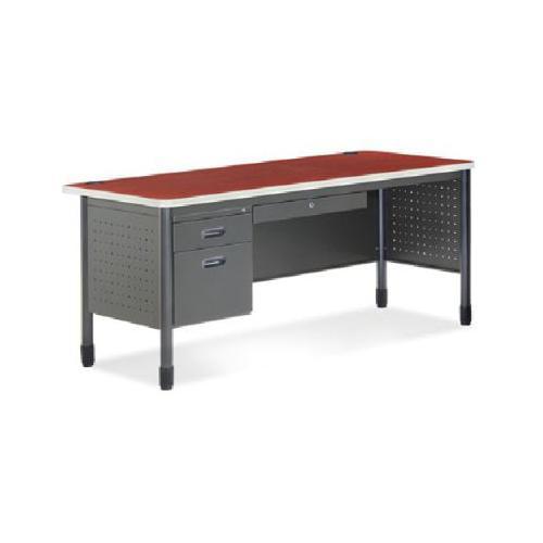 Best Cherry finish single pedestal desk BEF5207347