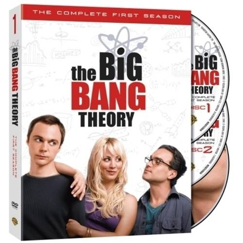 BIG BANG THEORY-COMPLETE 1ST SEASON (DVD/3 DISC/WS/16:9 TRANS)