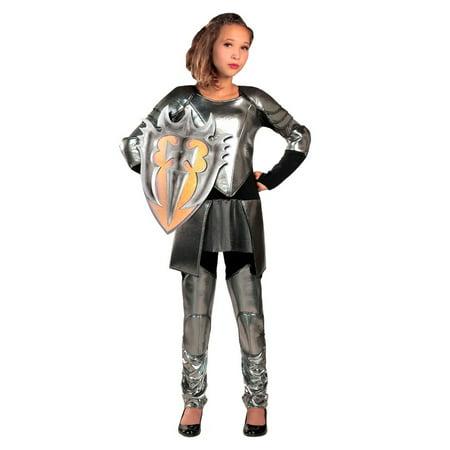 Halloween Warrior Snow Child Costume](Kids Warrior Costume)