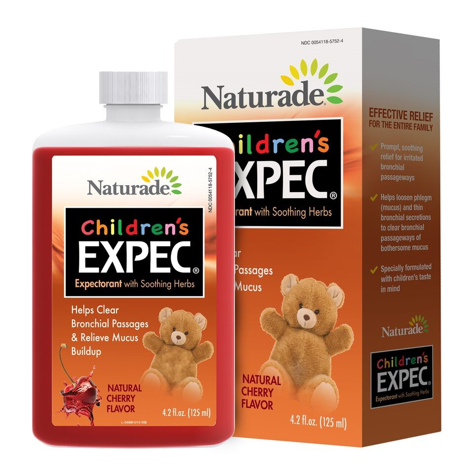 Naturade Children's Expec (Expectorant) Liquid, 4.2 Fl Oz