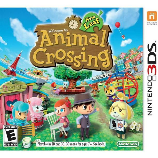 Nintendo Animal Crossing New Leaf Nintendo 3ds Walmart Com