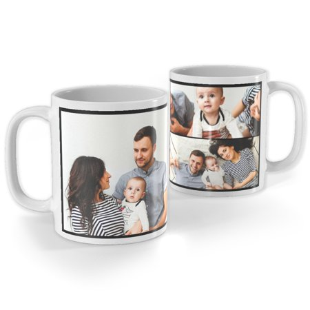 - Collage Photo Mug, 11 oz