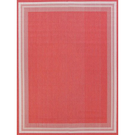 Rugselect Modern Large 8x10 Belgium Oriental Solid Red