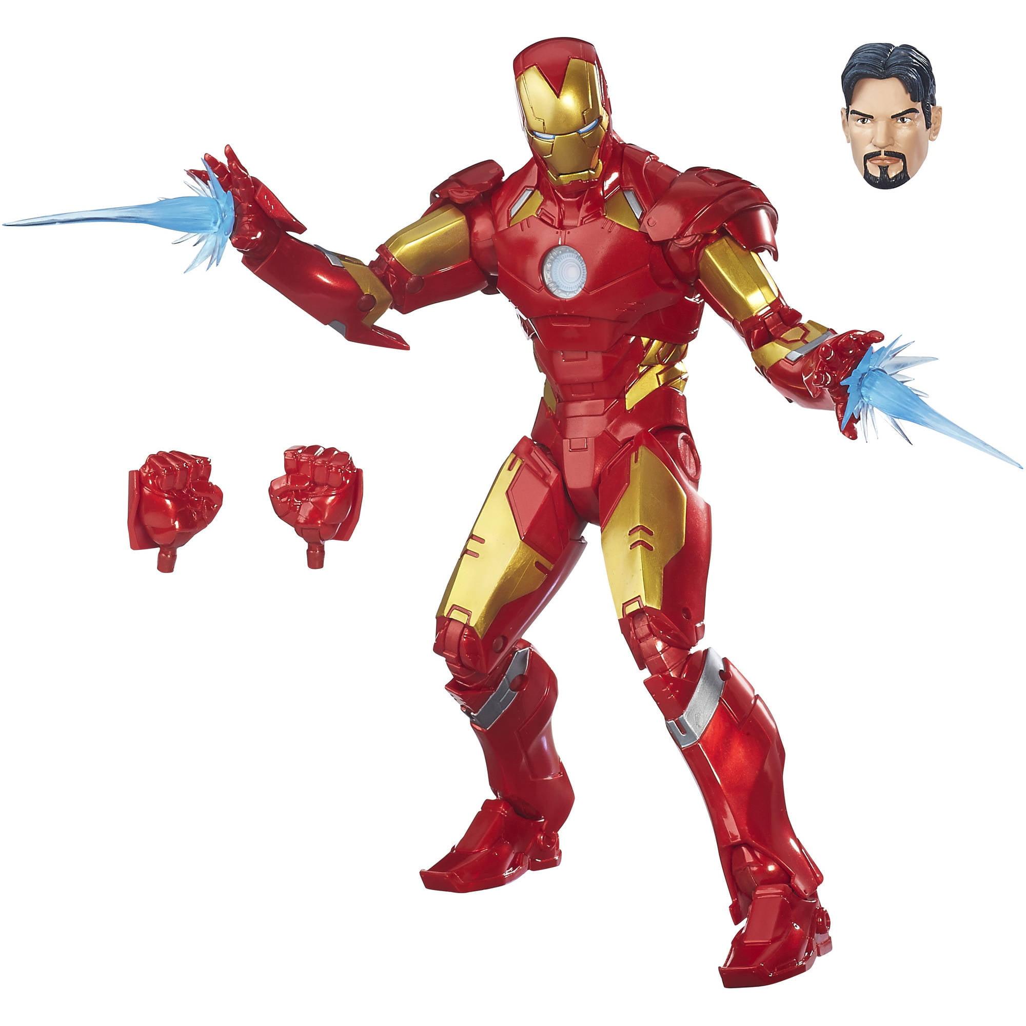 "Marvel Legends Series 12"" Iron Man"