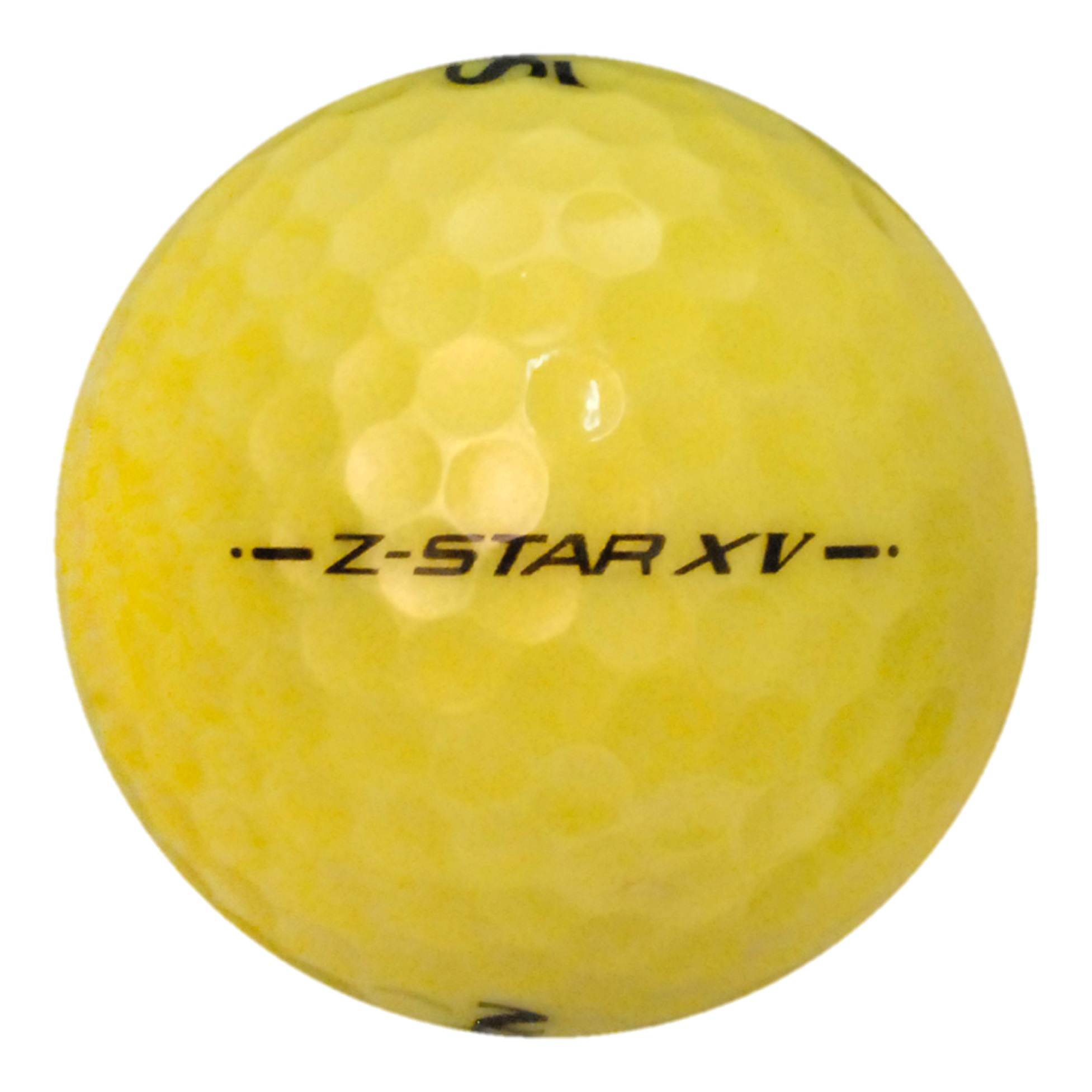 Srixon Z-Star XV Yellow - Value (AAA) Grade - Recycled (Used) Golf Balls - 50 Pack