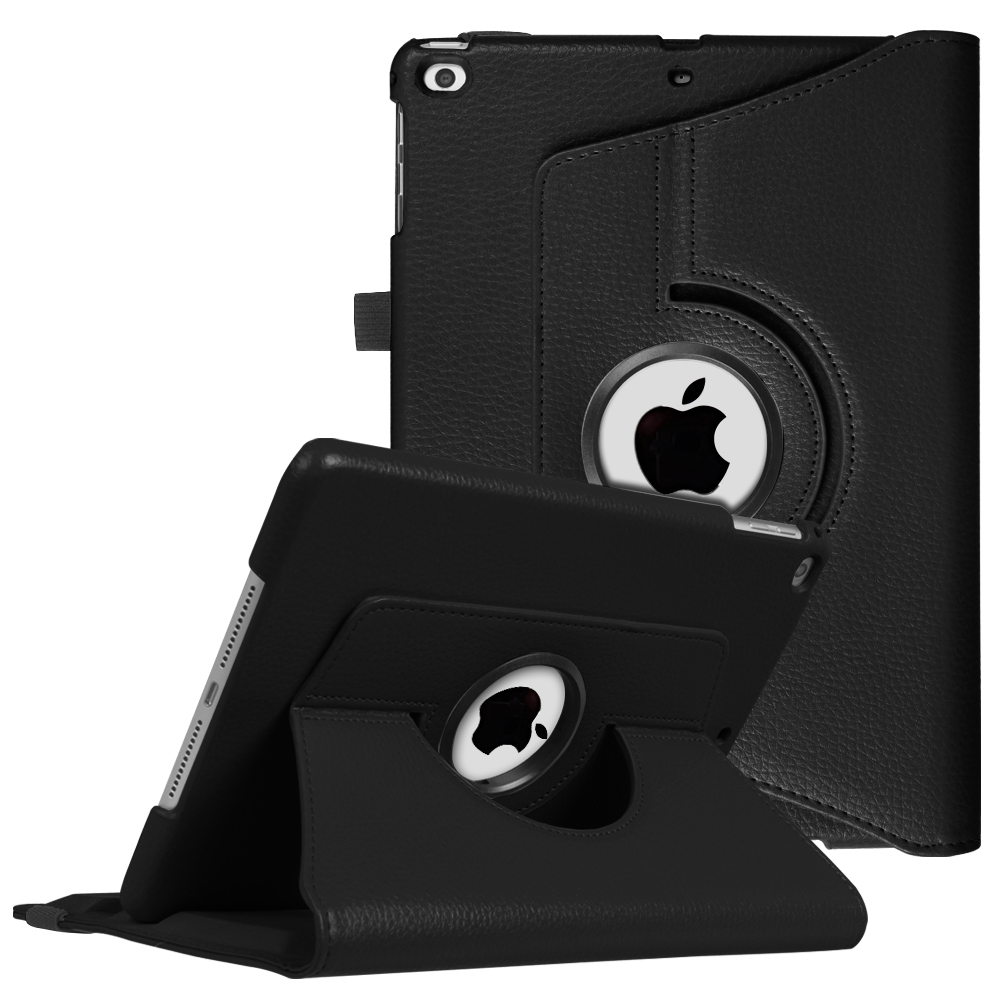 Fintie iPad 6th / 5th Gen, iPad Air /Air 2 Multiple Angles Stand Case Cover with Auto Sleep Wake, Black