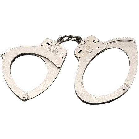 Smith & Wesson 350118 110 Large Handcuffs Nickel
