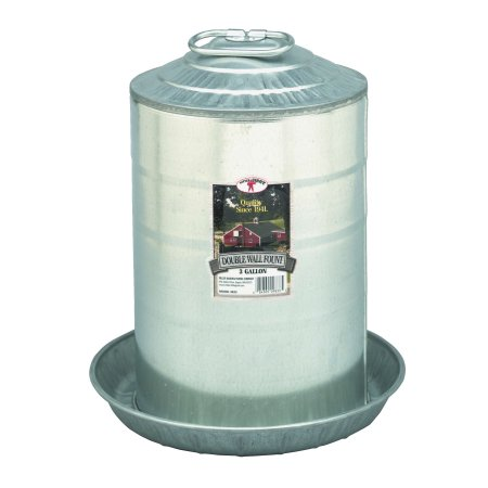 Miller Manufacturing Double Wall Fountain, 3-Gal