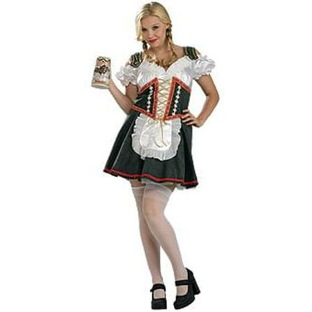 Sexy Beer Garden Girl Costume Adult Plus Plus - Beer Girl Costume Plus Size