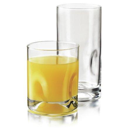 Libbey Impressions 16 Piece Drinkware Set