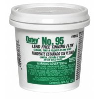 Lead Free Flux, Paste, Lead Free, 8 oz.