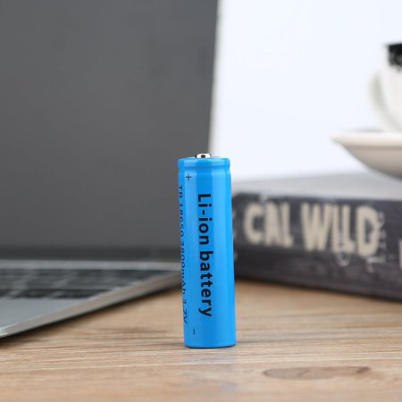 18650 Li-ion 3800mAh 3.7V Re able Battery for Your Flashlight 2Pcs - image 5 de 8