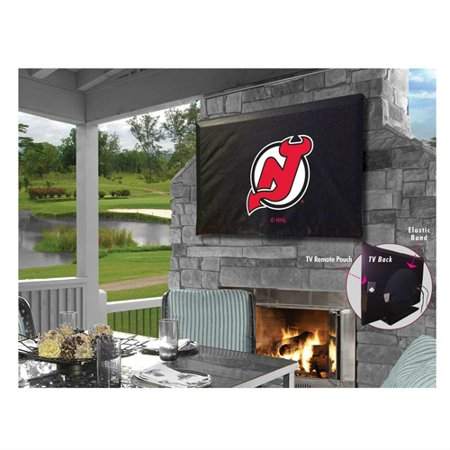 brand new ef0e3 4d097 Holland Bar Stool TV50NJDevl New Jersey Devils Vinyl TV Cover, Black