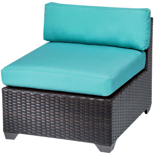 TK Classics Belle Patio Chair with Cushions (Set of 2)