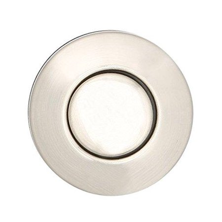 Sink Top Push Button Replacement for Insinkerator Air Switch Garbage / Waste Disposal Outlet By Essential Values (Chrome