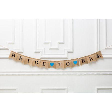 Bride To Be Wedding Banner Sign Garland Bunting- Bachelorette Party-Photo Prop Or Decoration