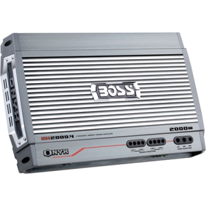 Boss Audio Nx2000.4 Onyx 2000 Watts, 4-channel Amplifier (nx2000-4)