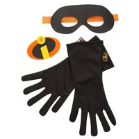 Incredibles 2 Gear Dress Up Set includes Emblem, Gloves and Mask